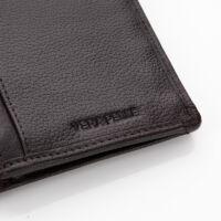 GIULIO valódi bőr pénztárca RFID rendszerrel +