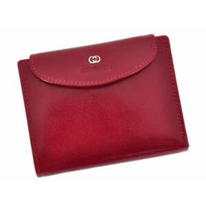 Cefirutti Valódi bőr Pénztárca női pénztárca piros színben
