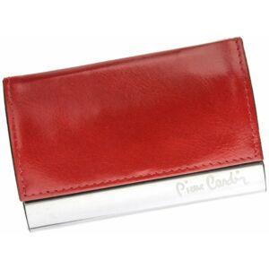 Pierre Cardin Valódi bőr Kártyatartó piros színben