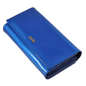 Rovicky bőr női pénztárca RFID védelemmel 8803_Blue