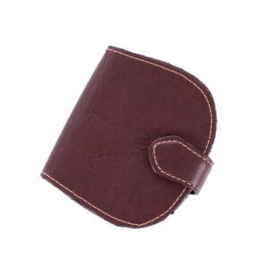 Patkó pénztárca sötétbarna színben