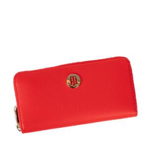 Tommy Hilfiger Női piros pénztárca AWOAW09534