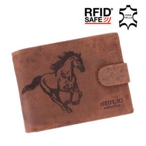Lovas pénztárca bőr díszdobozban RFID rendszerrel