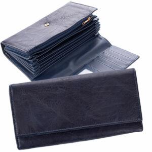 Kék színű brifkó pénztárca