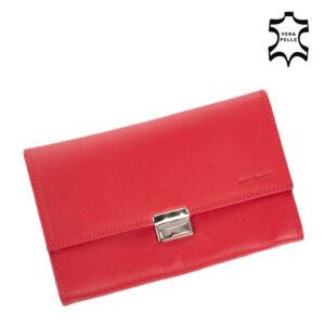 Pincér pénztárca piros színben