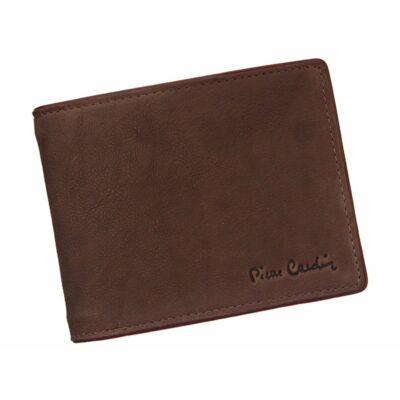 Pierre Cardin valódi bőr férfi pénztárca díszdobozban.