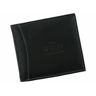 Always Wild Valódi bőr férfi pénztárca díszdobozban