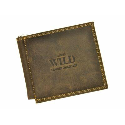 Always Wild  valódi bőr férfi pénztárca