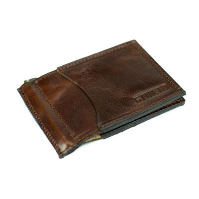GIULIO valódi bőr dollár pénztárca