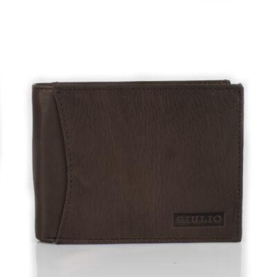 GIULIO valódi bőr férfi pénztárca ( 8 kártyatartó )*