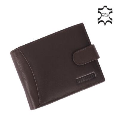 GIULIO valódi bőr férfi pénztárca díszdobozban ( 5 kártyatartó ) *