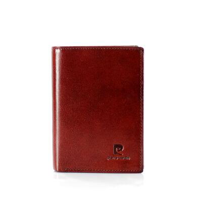 "Pierre Cardin valódi bőr férfi pénztárca díszdobozban """