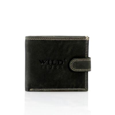 WILD valódi bőr férfi pénztárca*