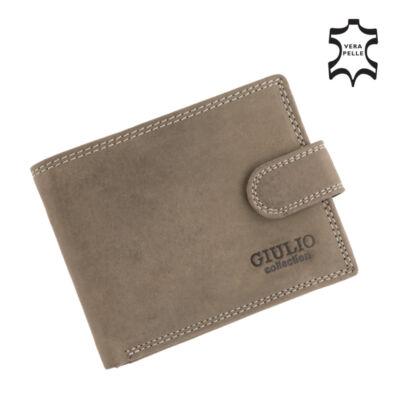 GIULIO valódi bőr férfi pénztárca,,