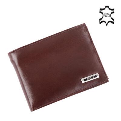 GIULIO valódi bőr férfi pénztárca díszdobozban,,*