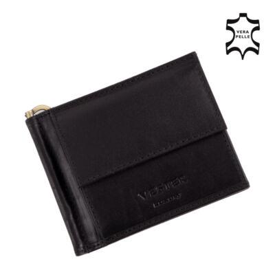 VESTER Valódi bőr férfi dollárpénztárca díszdobozban*