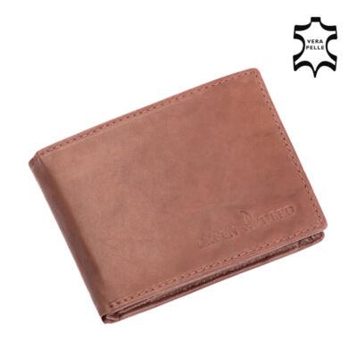 Green Deed valódi bőr pénztárca díszdobozban