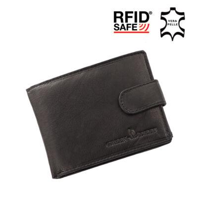 GREEN DEED valódi bőr férfi pénztárca díszdobozban RFID rendszerrel ,,