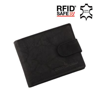 GREEN DEED valódi bőr férfi pénztárca díszdobozban RFID rendszerrel,,
