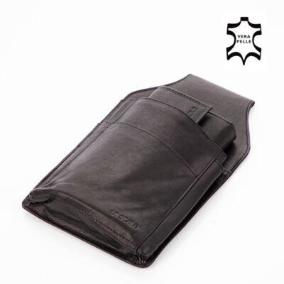 Pincér pénztárca övre fűzhető tartóval