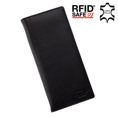 GIULIO valódi bőr pénztárca RFID rendszerrel