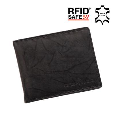 GREEN DEED valódi bőr férfi pénztárca díszdobozban RFID rendszerrel