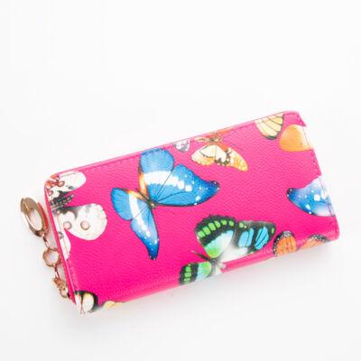 Euroline pillangós női pénztárca *