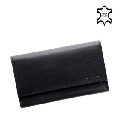 La Scala valódi bőr brifkó pénztárca pincér pénztárca