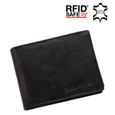 RFID blokkoló Green Deed férfi pénztárca XGR11/A