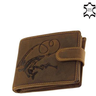 GreenDeed horgász pénztárca csuka Mintával díszdobozban ACSB99/T