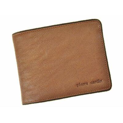 Pierre Cardin valódi bőr férfi pénztárca díszdobozban*