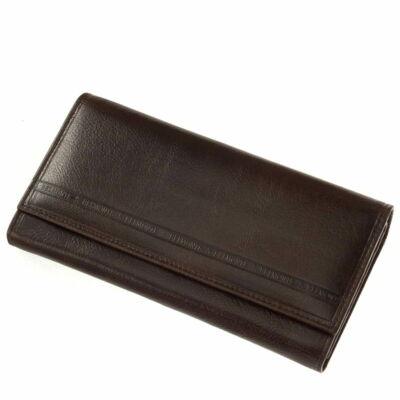S.Belmonte valódi bőr brifkó pénztárca *