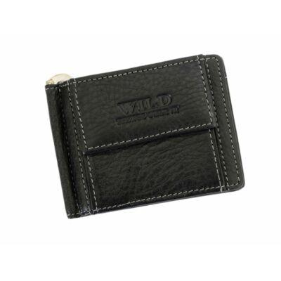 Wild valódi bőr férfi dollár pénztárca