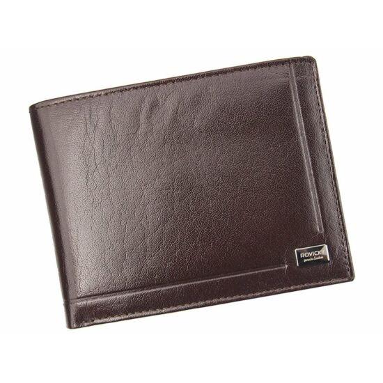 Rovicky Valódi bőr férfi pénztárca díszdobozban