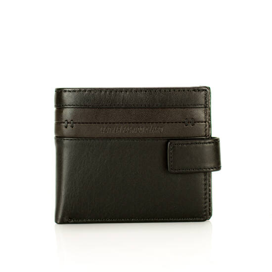 Cefiro Leather Collection Valódi bőr férfi pénztárca díszdobozban
