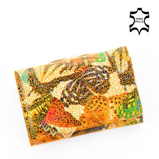 Pillangós Valódi bőr pénztárca**