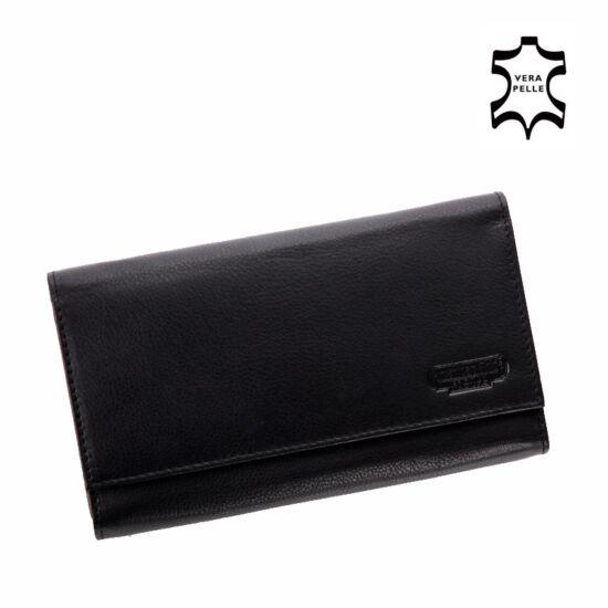 Valódi bőr brifkó pénztárca pincér pénztárca