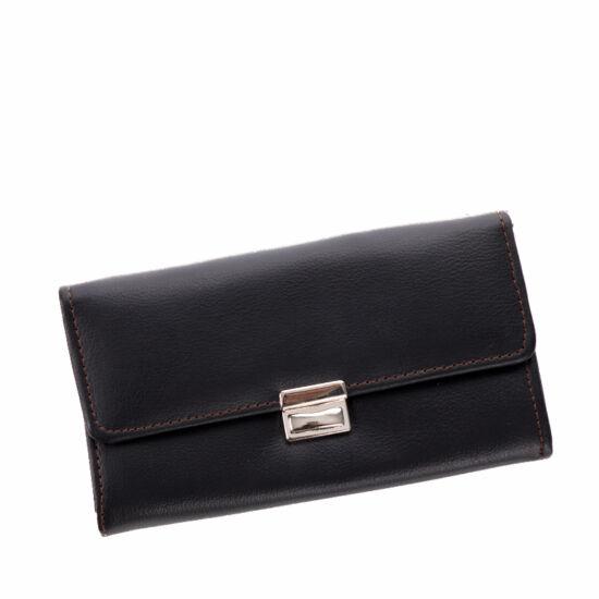 Brifkó pénztárca pincér pénztárca sötétbarna színben