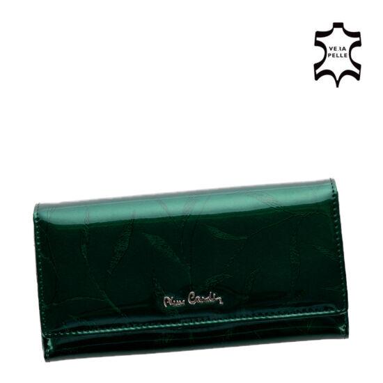 Pierre Cardin Valódi bőr Pénztárca zöld színben