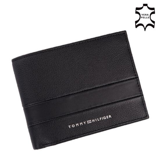 Tommy Hilfiger Nagy férfi pénztárca Fekete színben TOMMY HILFIGER AM0AM06315
