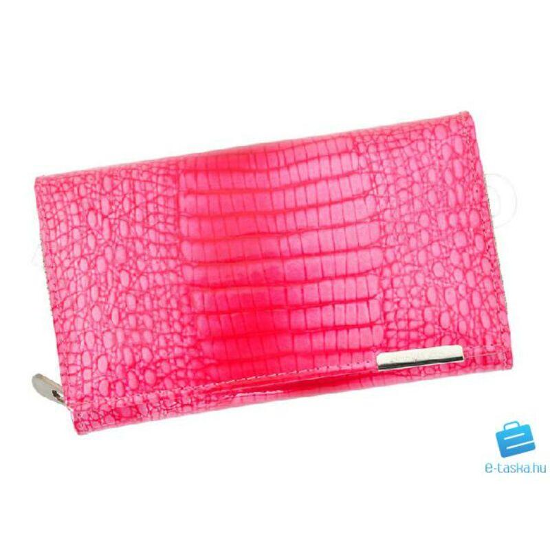 00127b5b60 Jennifer Jones pink Valódi bőr , lakkbőr Pénztárca Katt rá a felnagyításhoz