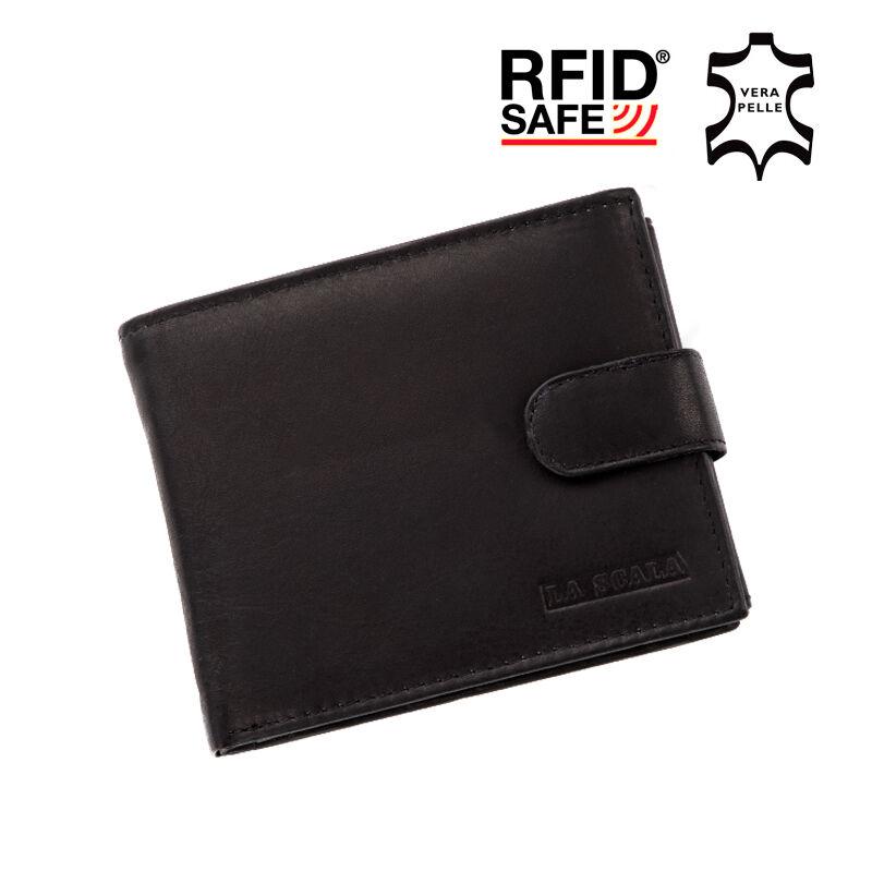 La Scala valódi bőr férfi pénztárca RFID Katt rá a felnagyításhoz 0834cab12c