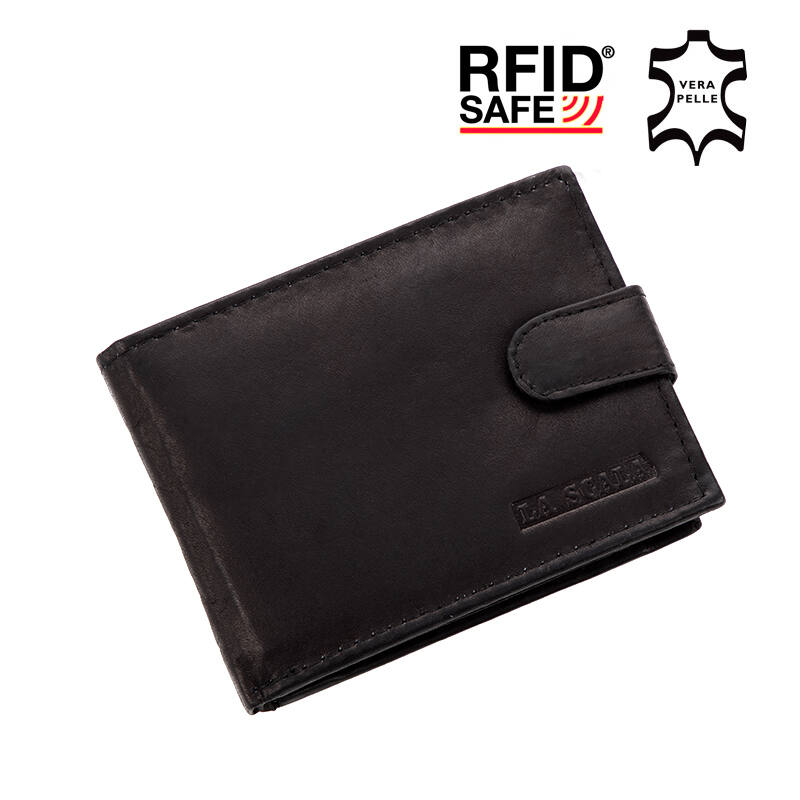 La Scala valódi bőr férfi pénztárca RFID Katt rá a felnagyításhoz 693805e033