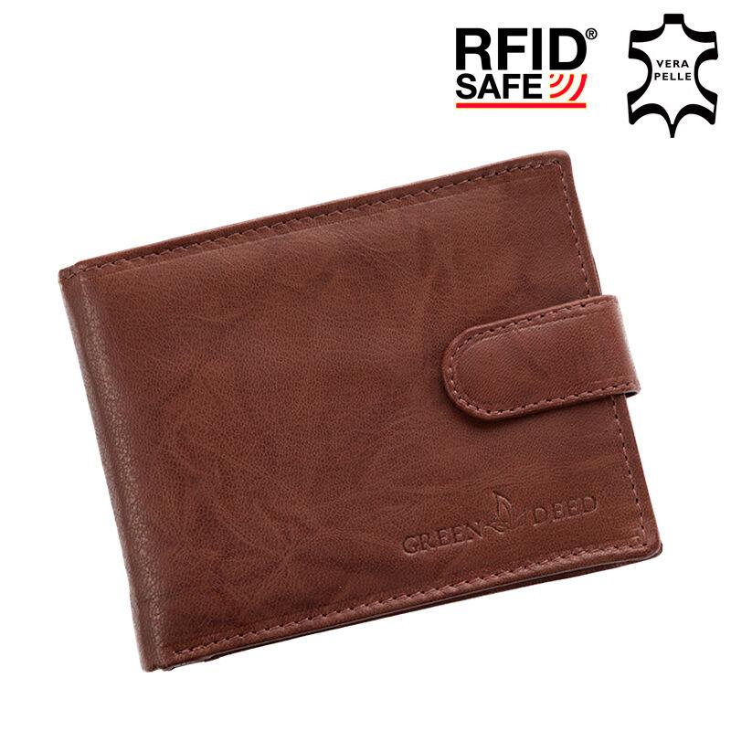 b60a7c3e7c1b GREEN DEED valódi bőr férfi pénztárca díszdobozban RFID rendszerrel Katt rá  a felnagyításhoz
