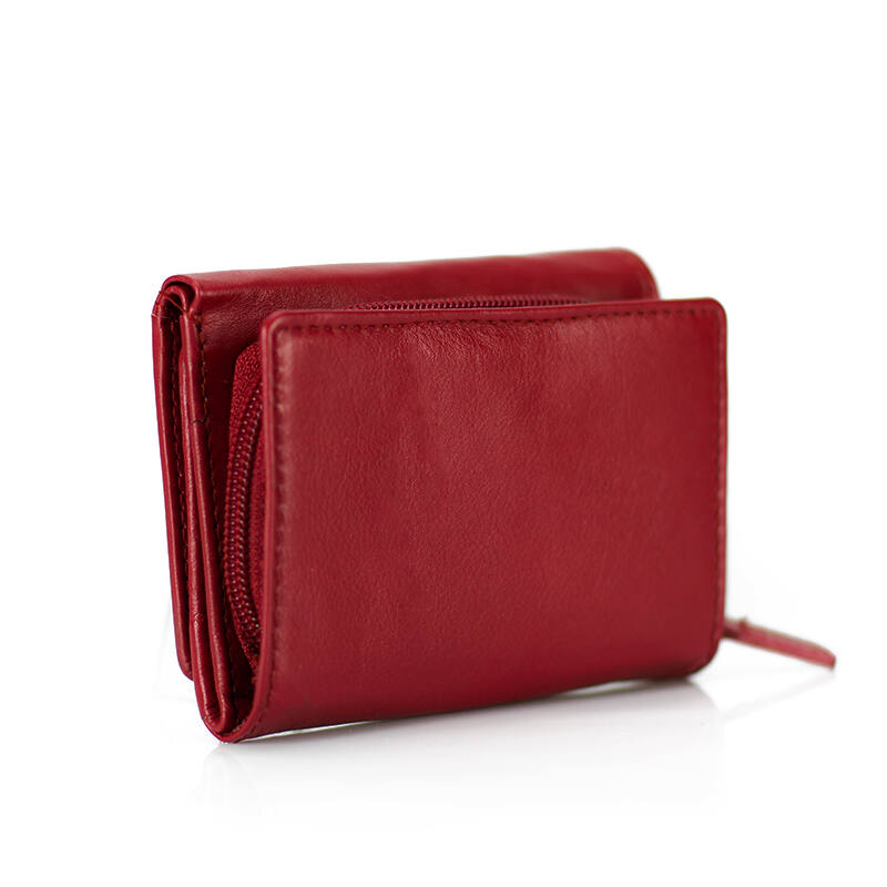 cc2d3e6cbf2e Fairy valódi bőr piros női pénztárca díszdobozban - Fairy valódi bőr ...