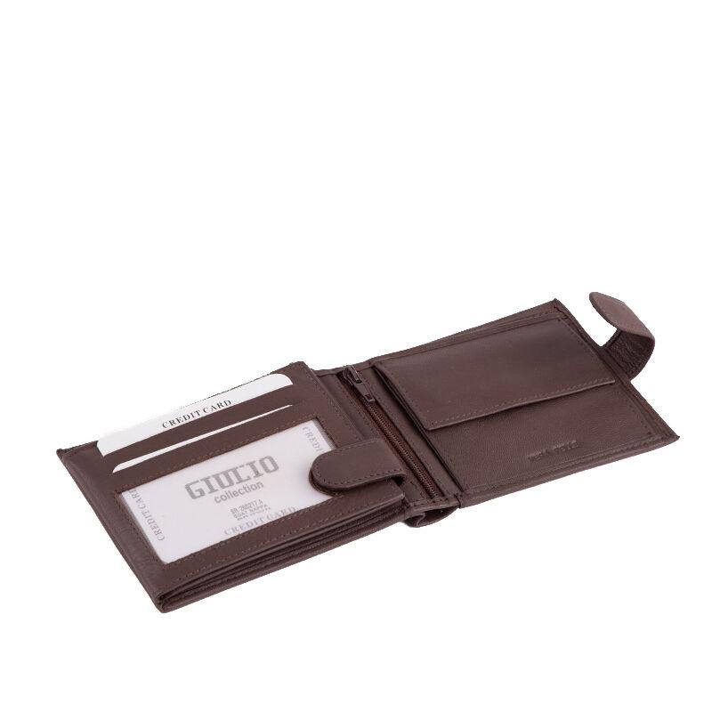 a9c9054629 GIULIO valódi bőr férfi pénztárca díszdobozban RFID rendszerrel ( 8  kártyatartó )*