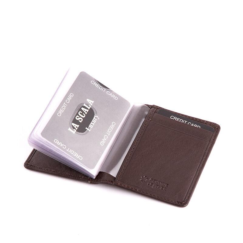 LA SCALA valódi bőr kártyatartó  - Giulio férfi pénztárcák ... 578267305d