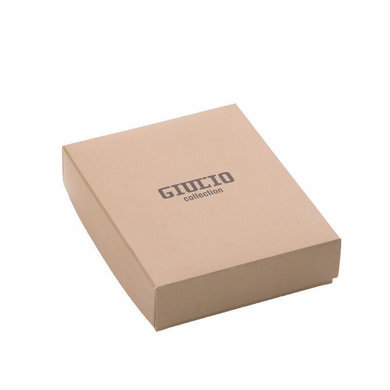 a155c803bc GIULIO valódi bőr férfi pénztárca díszdobozban RFID rendszerrel ( 8  kártyatartó )